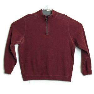 Tommy Bahama 1/4 Zip Reversible Sweater